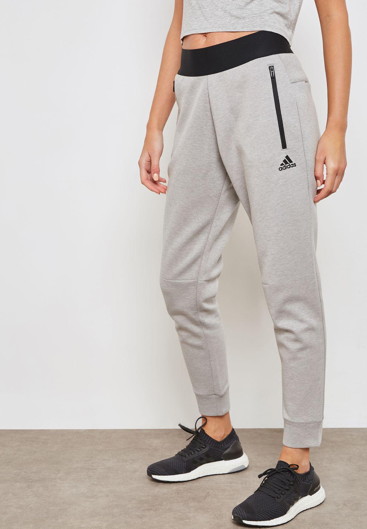 5244dd78bb5570 Shop adidas grey ID Stadium Sweatpants CZ2937 for Women in UAE ...
