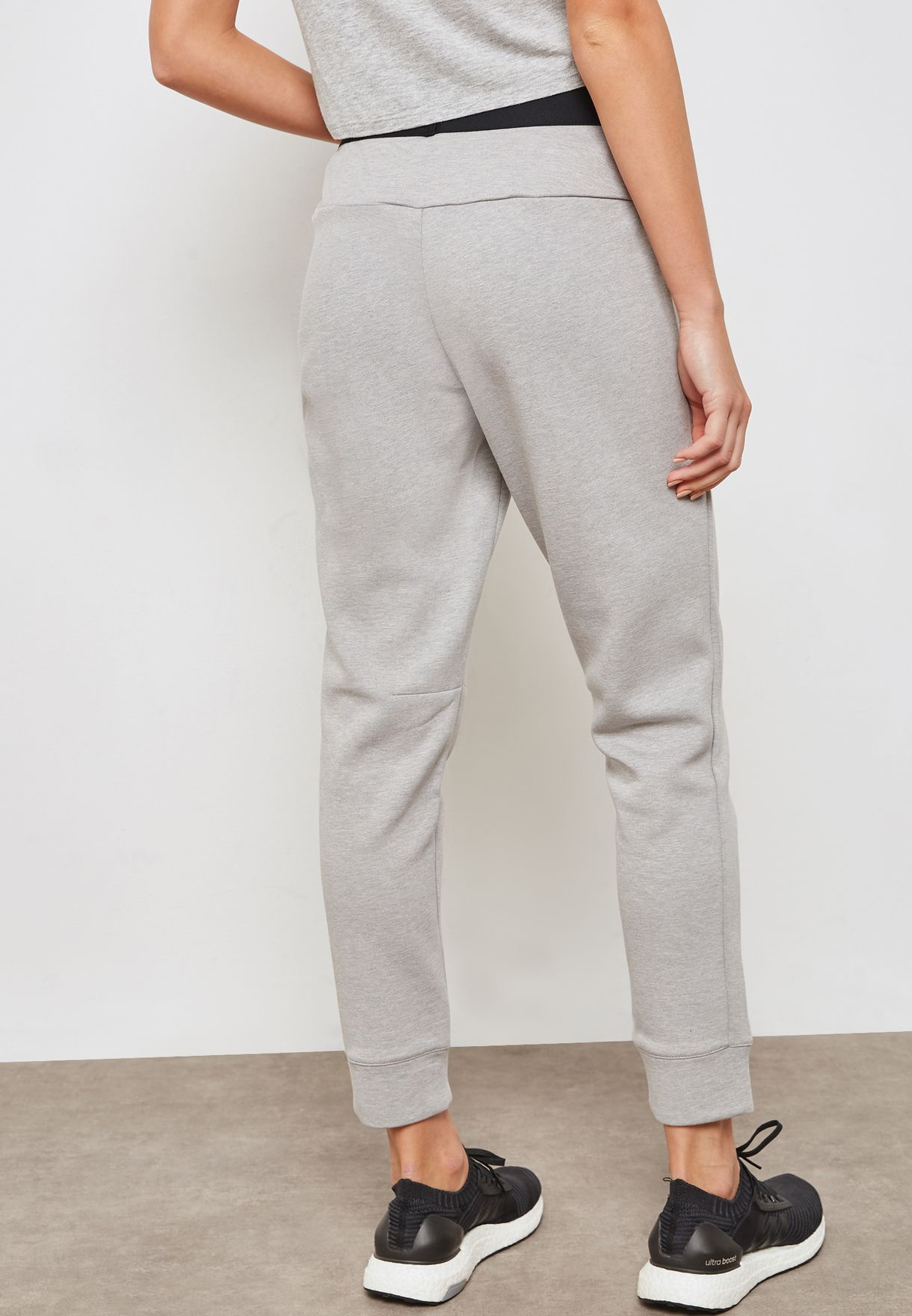 fce77a1e2fff4 Shop adidas grey ID Stadium Sweatpants CZ2937 for Women in Saudi ...