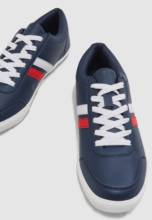 Webbing Detail Sneakers