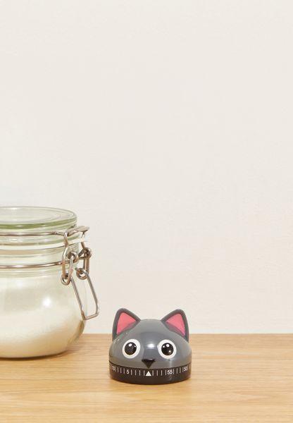 عداد للوقت عشكل قطة