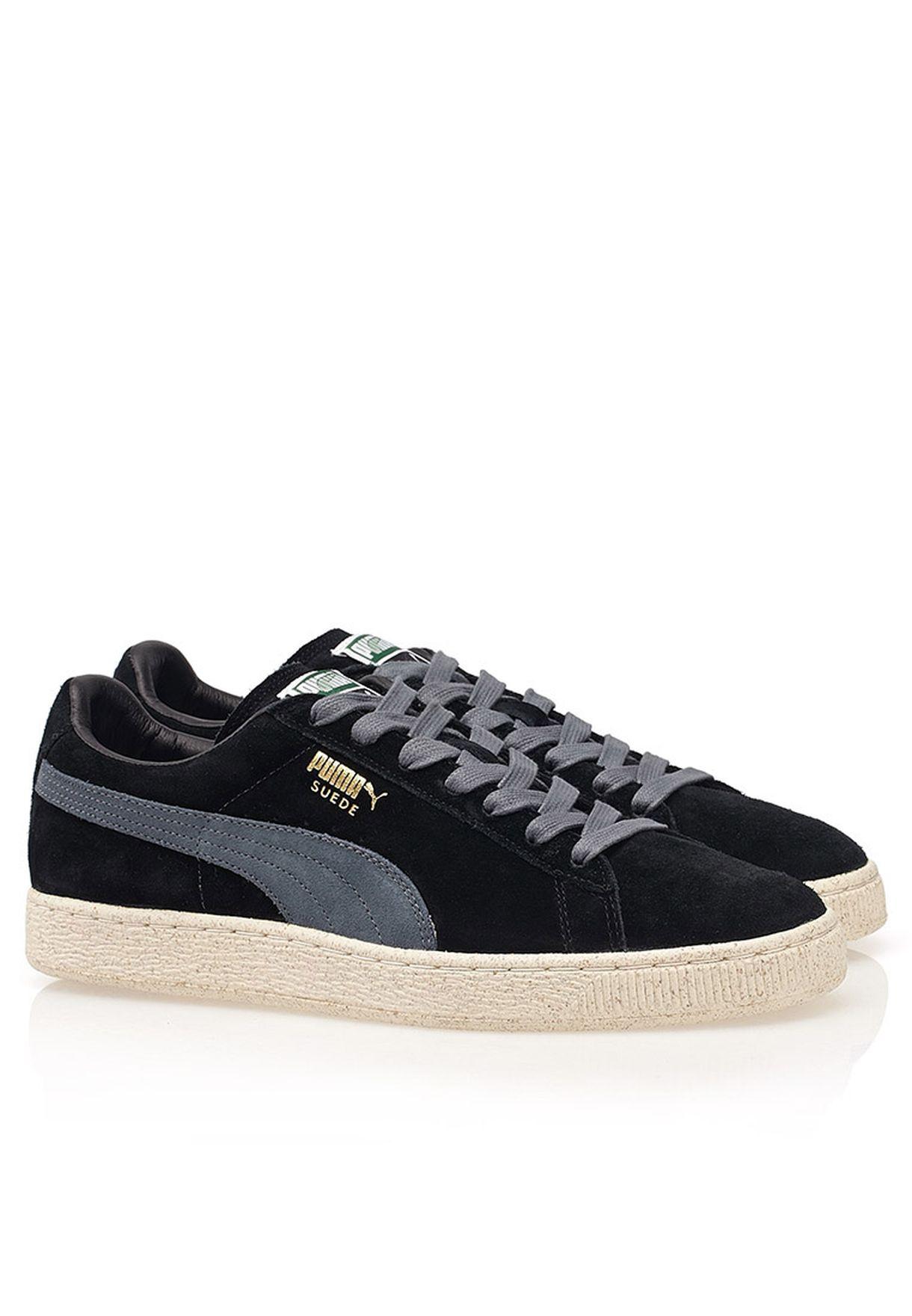d1c1237dcb9ba0 Shop PUMA black Suede Classic for Men in UAE - PU020SH96AAX