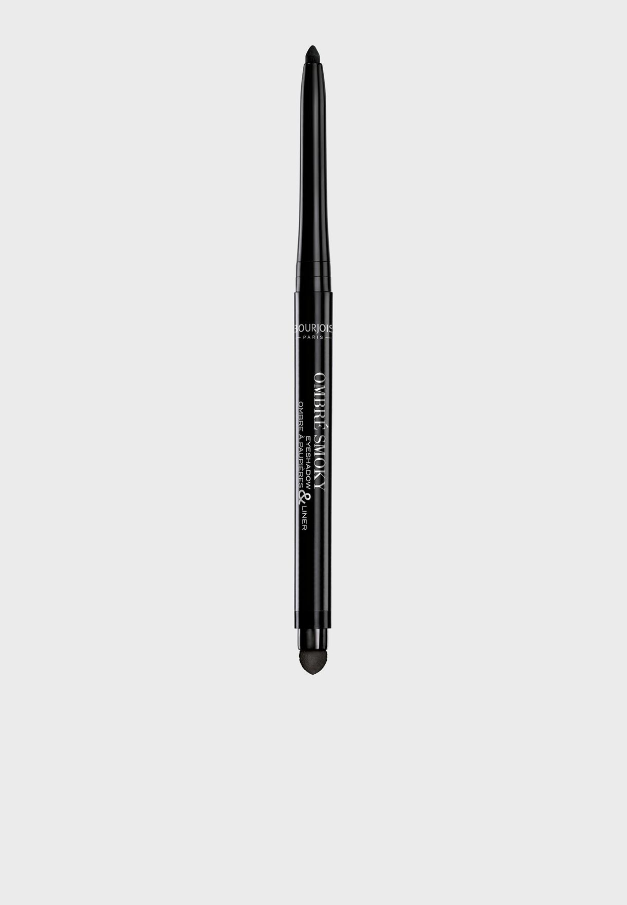 Ombré Smoky Eyeshadow & Liner 01 Black