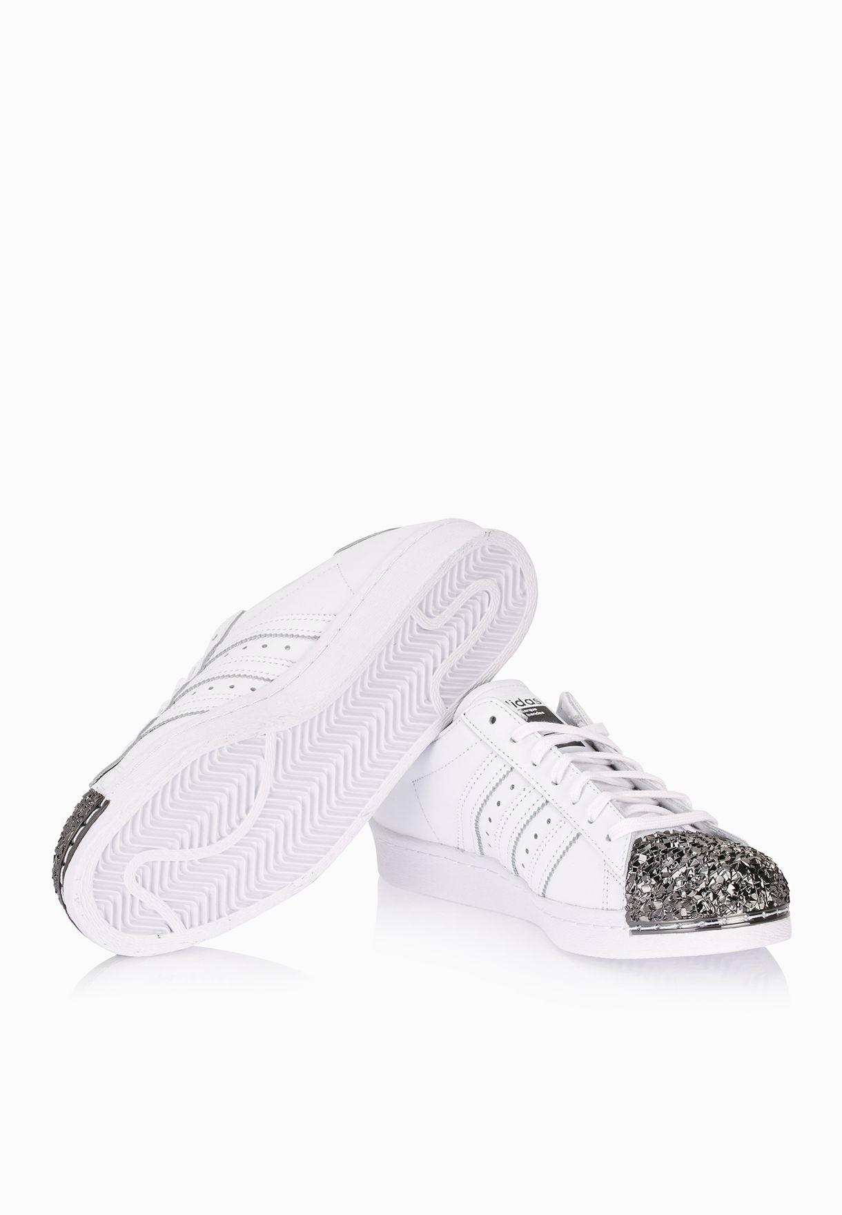 d4ef6189dfff42 Shop adidas Originals white Superstar 80s Metal Toe Cap S76532 for ...