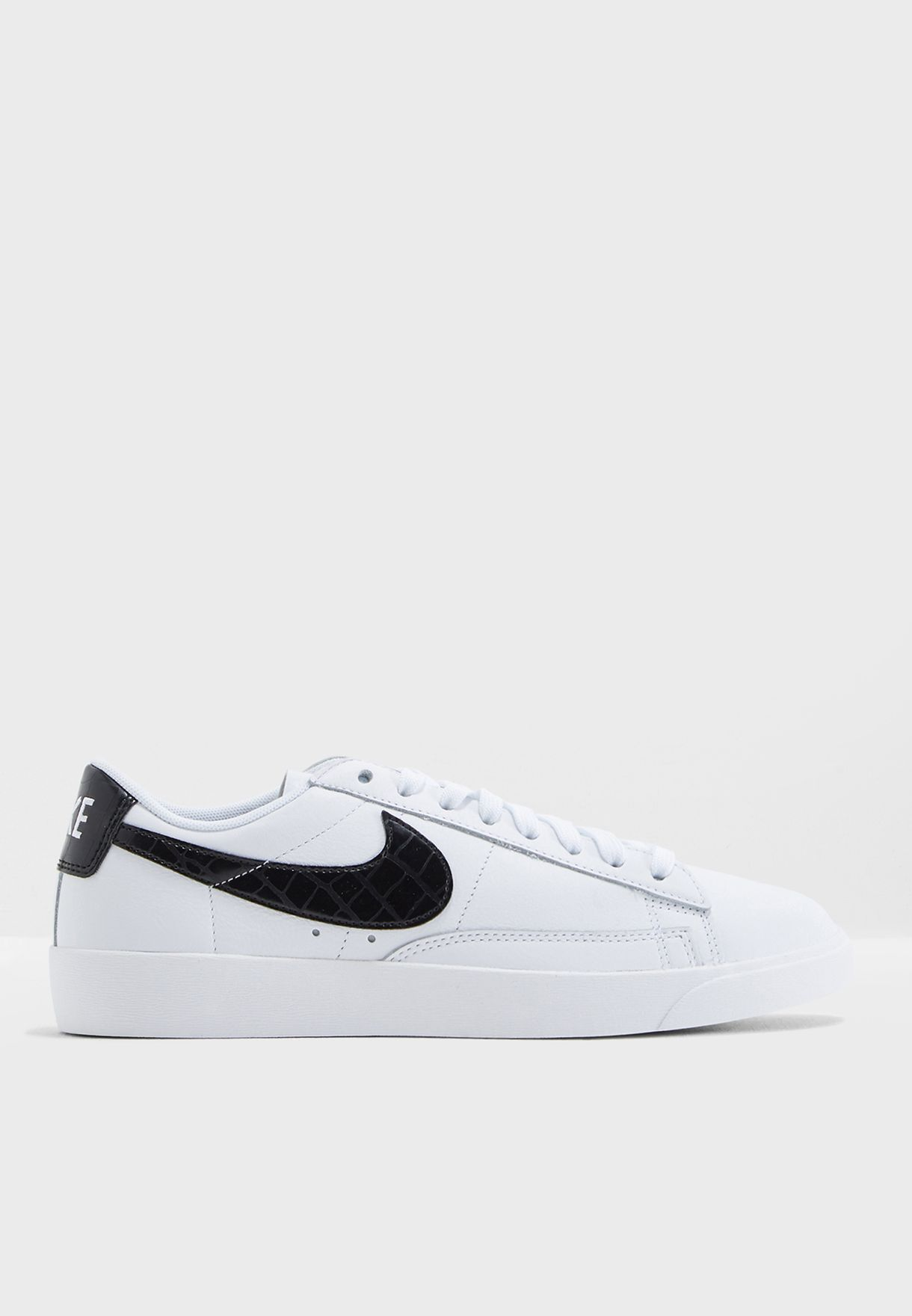 16c47c79f610 Shop Nike white Essential Blazer Low BQ0033-100 for Women in Qatar -  NI727SH86AHH