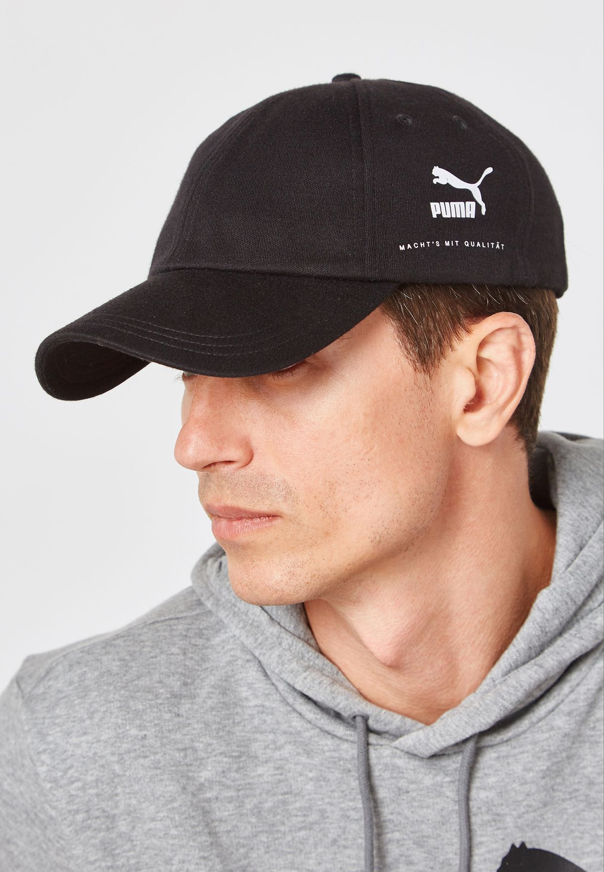 38306e38931 Shop PUMA black Archive Premium Baseball Cap 2171401 for Men in UAE ...