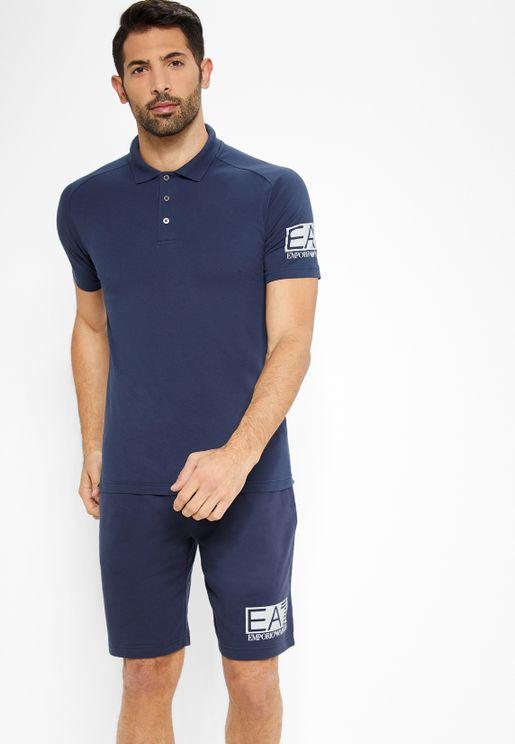 Contrast Edge Shorts