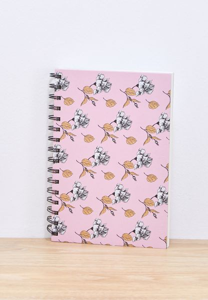 A5 Water Colour Floral Notebook