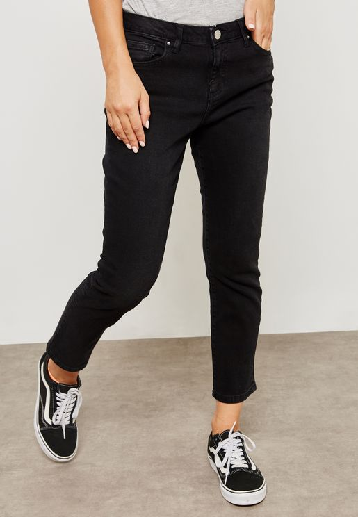 Taylor Cigarette Cropped Jeans