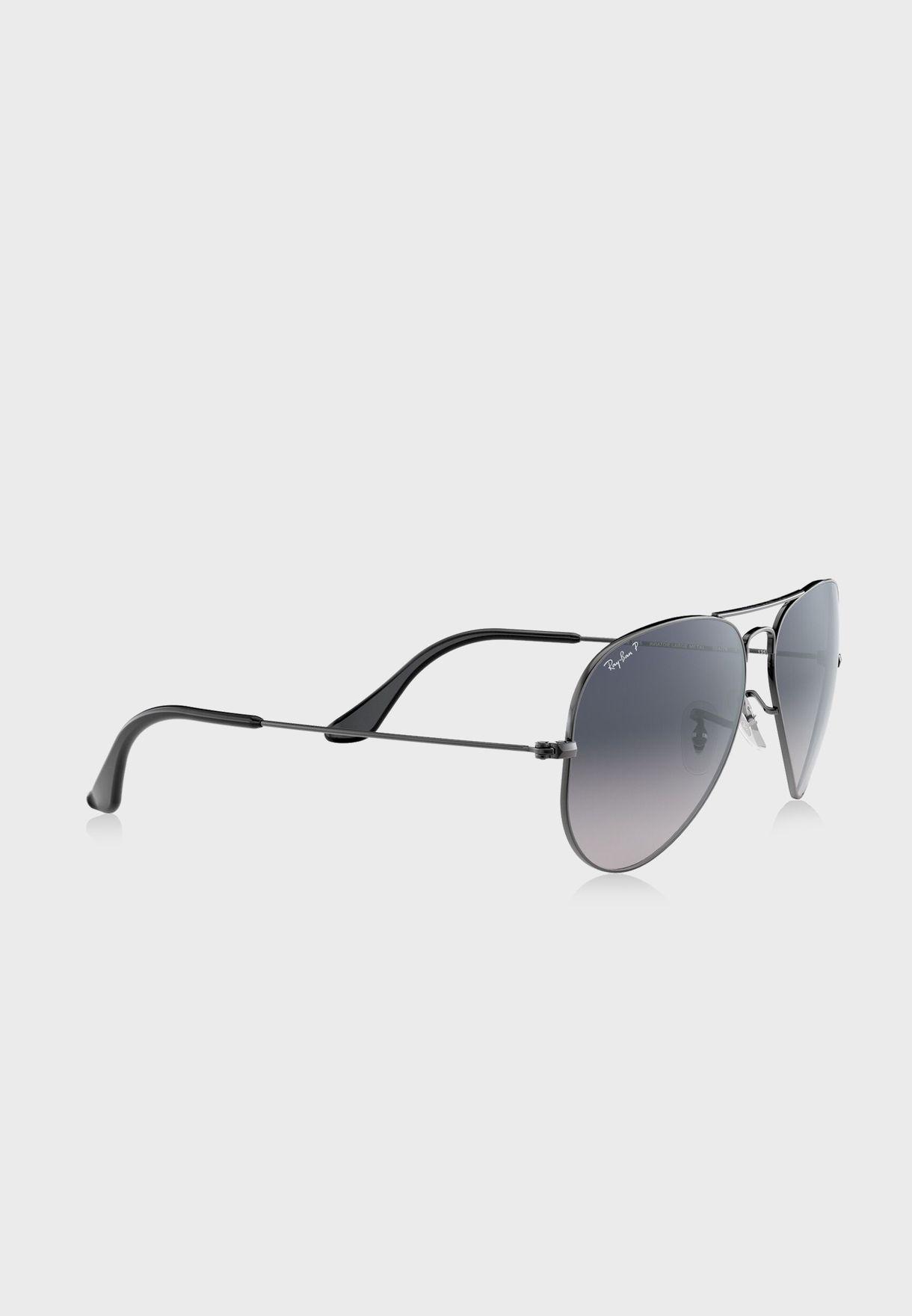 نظارة شمسية افيايتور بلون متدرج