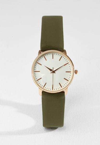 ساعة يد بتصميم مميز