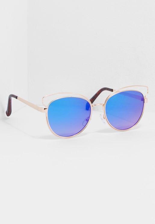 نظارة شمسية بنمط مرآة
