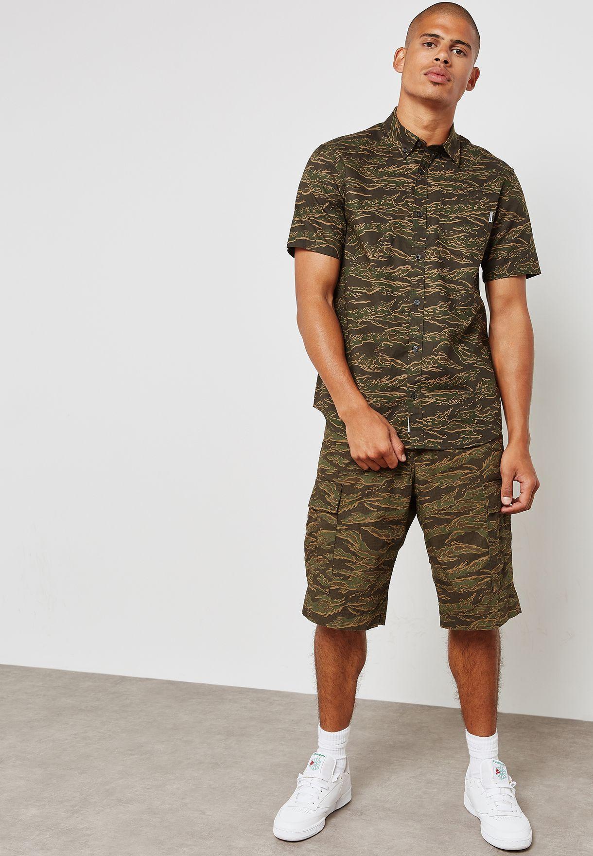 Tiger Camo Print Shirt