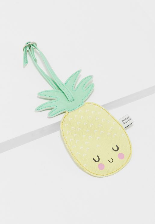 Hi Kawaii Pineapple Tag