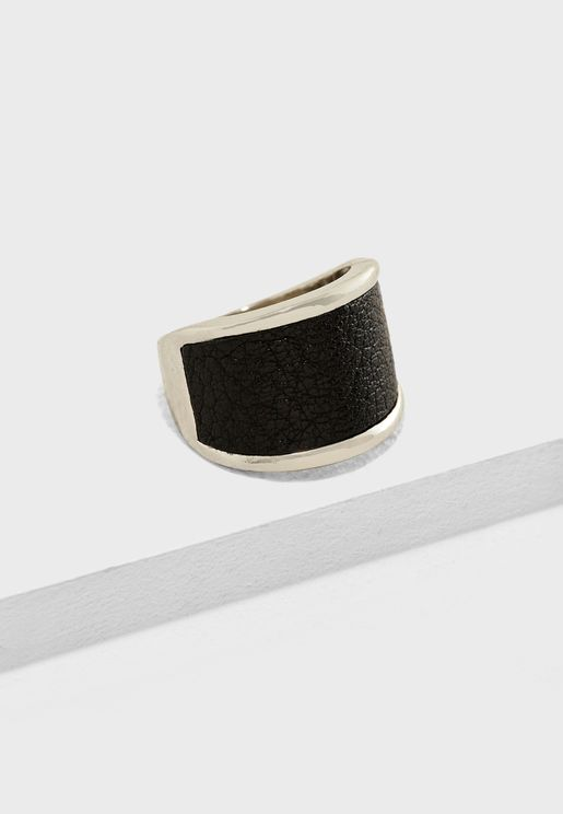 Leather Band Ring