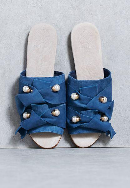 Pearl Embellished Sandal