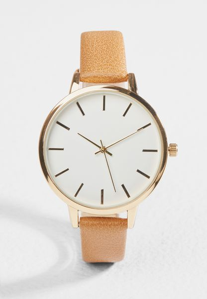 Toffee Tan Strap Watch