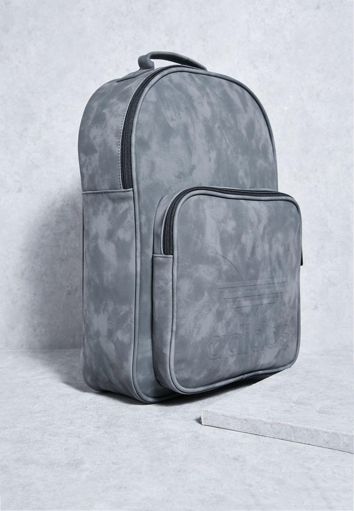 b3f6f530c814 Shop adidas Originals grey Classic Backpack BK7056 for Men in Qatar -  AD478AC86ZTH