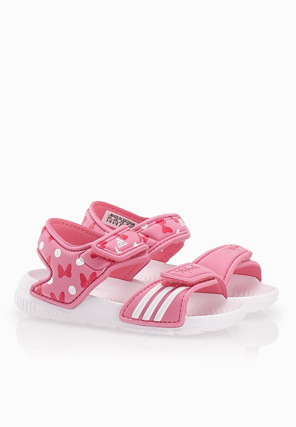 374718e3db1b6d Shop adidas pink Disney Akwah 9 Infant B40820 for Kids in Qatar -  AD476SH86PLH