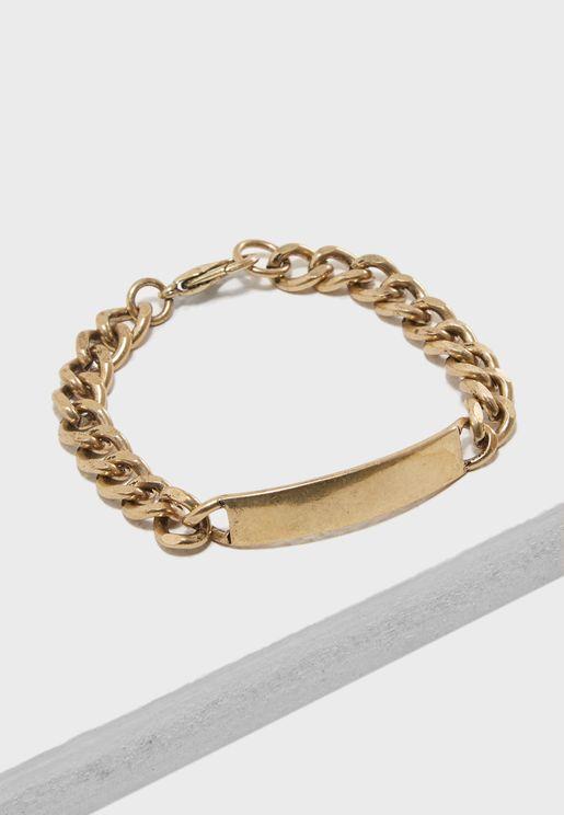 Burnished Gold Finish Bracelet