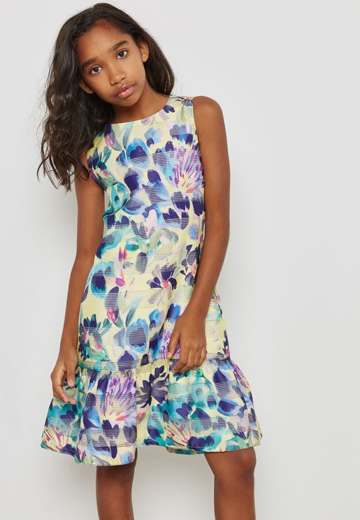 Teen Sarenza Printed Dress