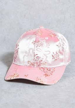 Printed Satin Cap