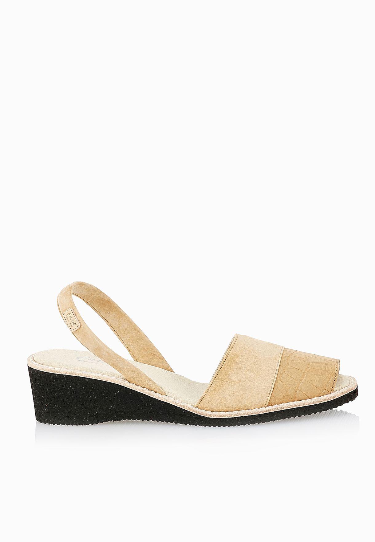 c945b51718f83 Shop Castell prints Kia Sling Back Sandals for Women in UAE ...
