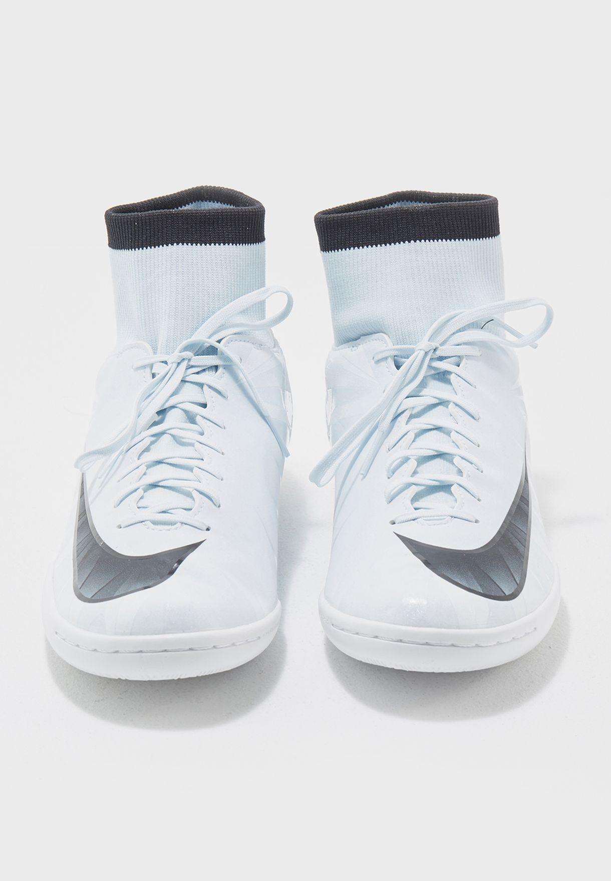 f4d4cbde0 Shop Nike white Mercurialx Victory VI Cr7 DF IC 903611-401 for Men ...