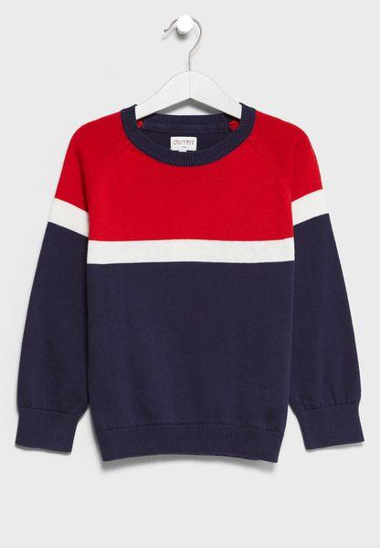 Little Color Block Sweater