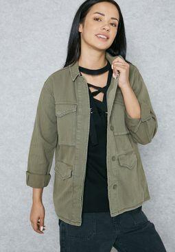 Longline Pocket Jacket