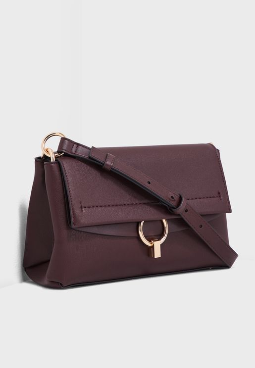 Ring Flap Over Crossbody