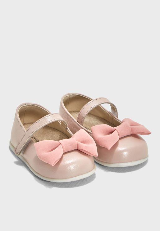 Infant Bow Detail Ballerina