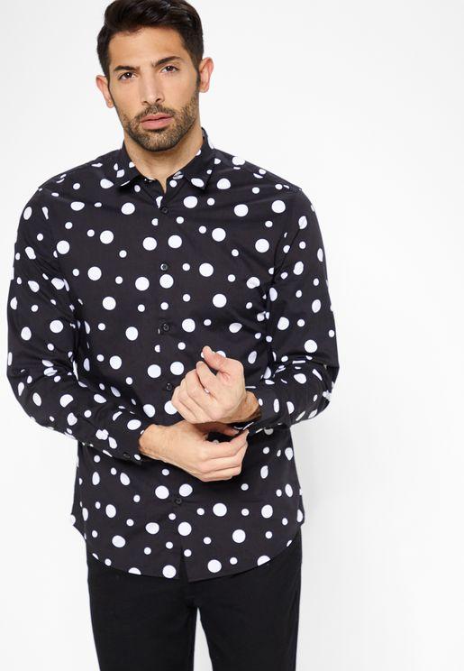 Prince AOP Slim Fit Shirt