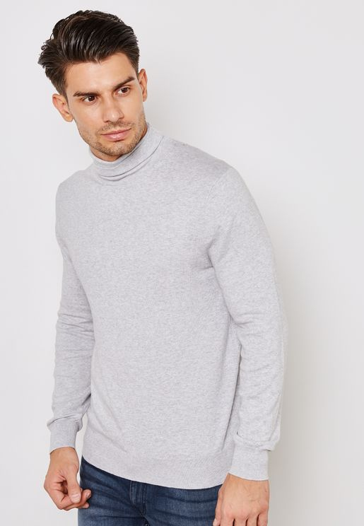 Fine Gauge Roll Neck Jumper