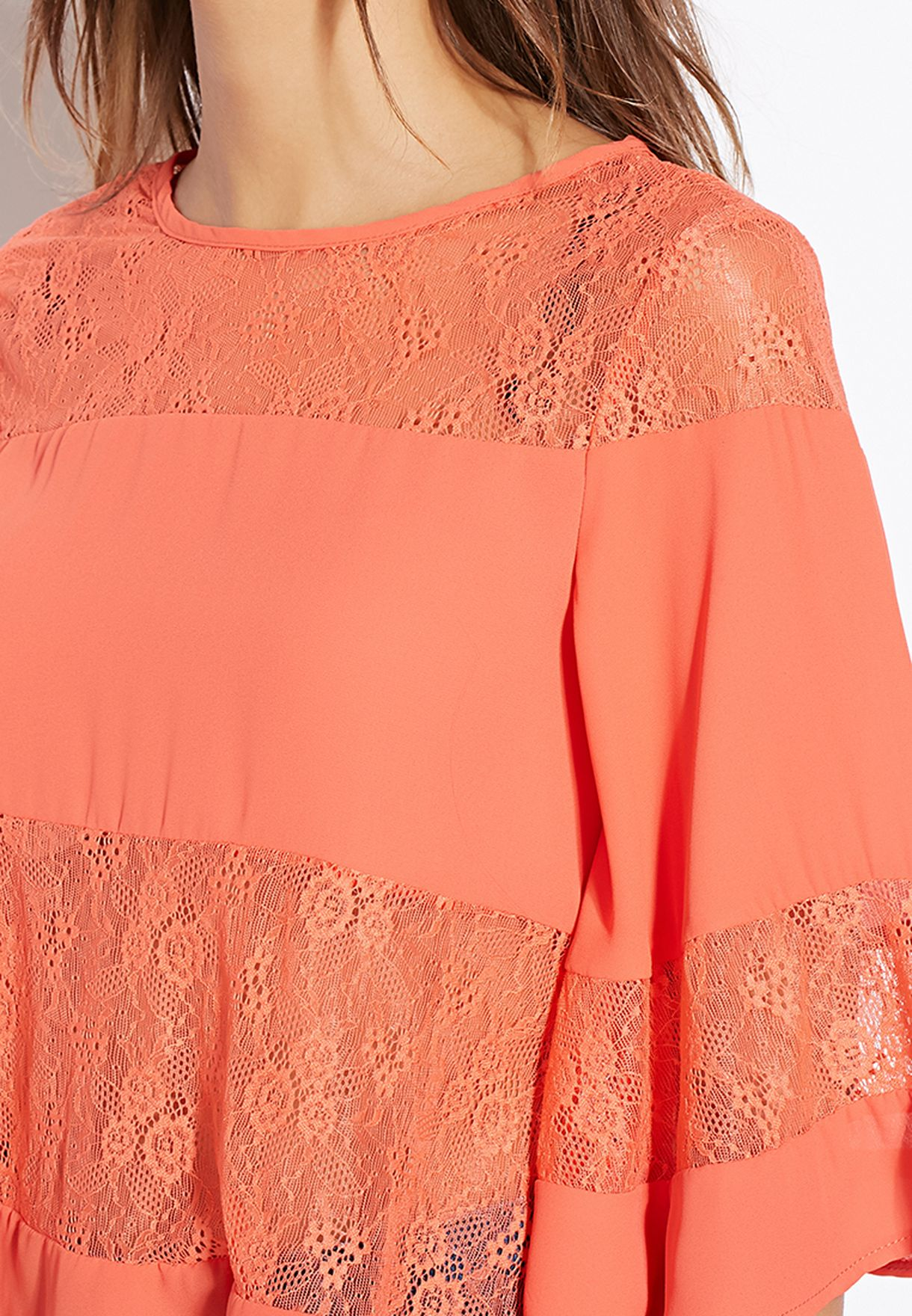 c3f670507a2d Shop Girls On Film orange Tiered Maxi Dress for Women in Bahrain ...