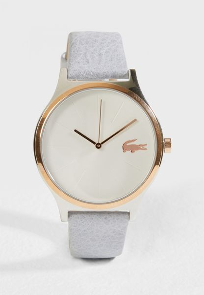 Nikita Leather Strap Analog Watch