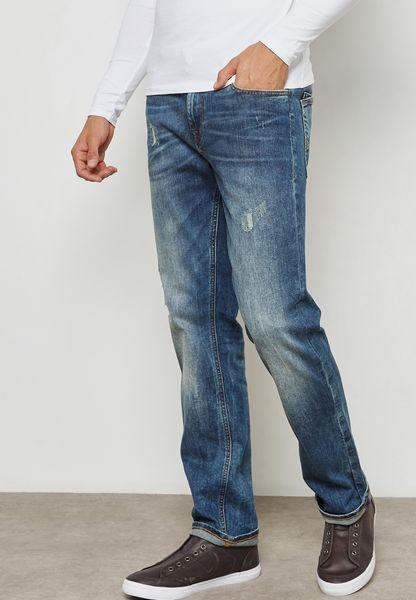 بنطال جينز سلم فت