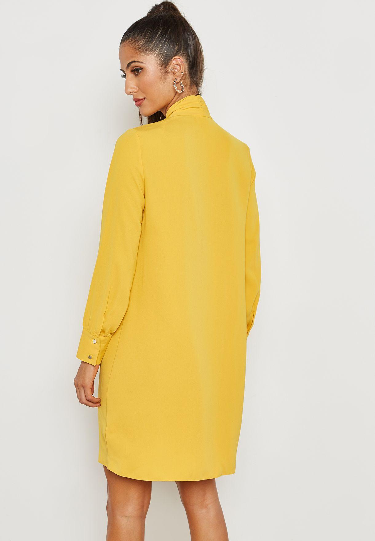 Bow Shirt Dress
