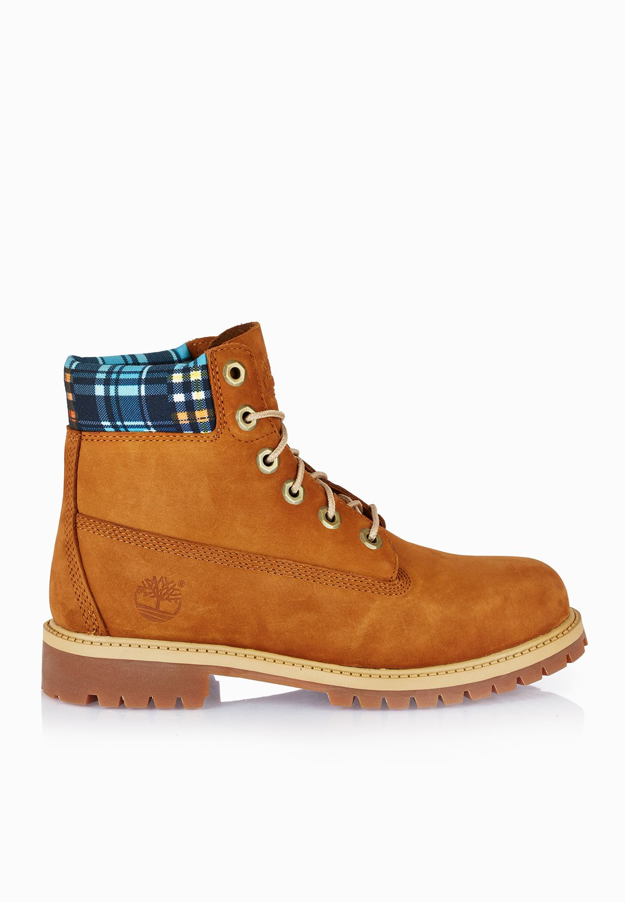 fa868ffa58 Shop Timberland brown 6 In Premium Water Proof Boot Youth TMFT ...