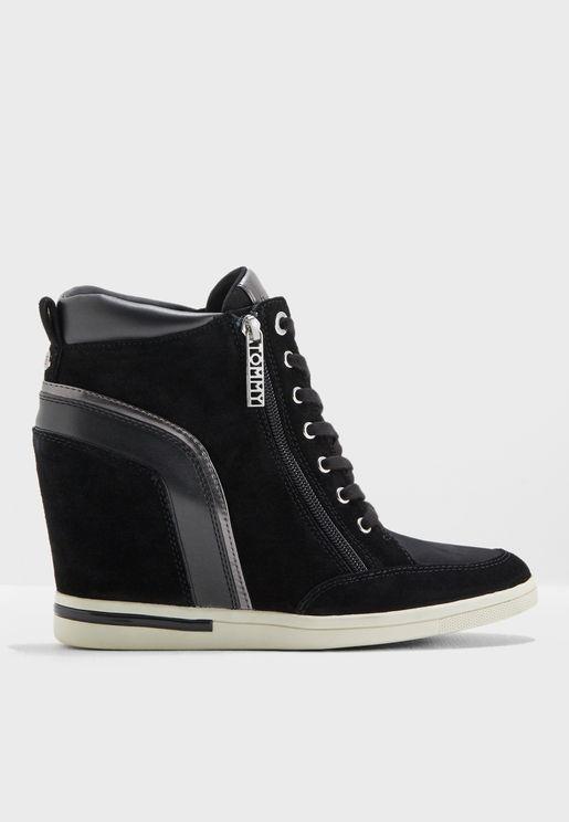 Mid Sneaker Wedge