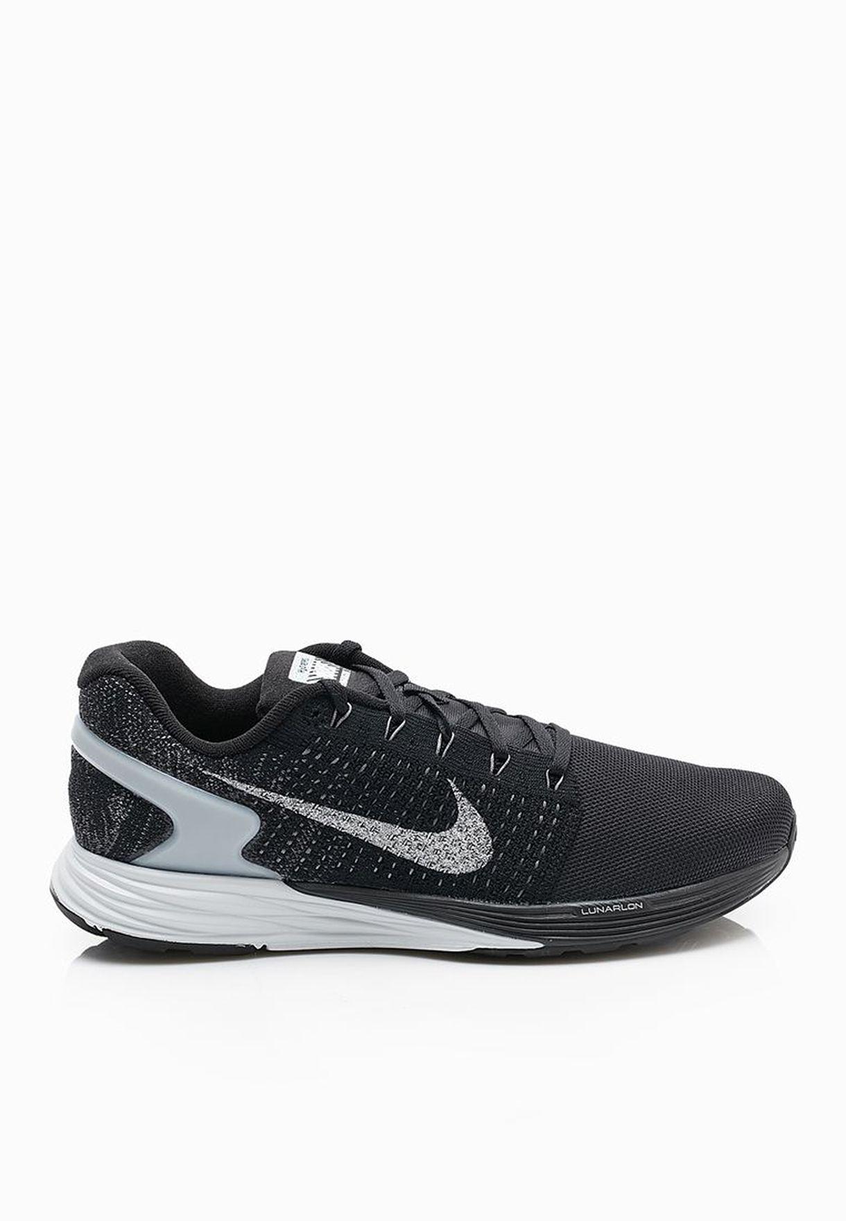 dad5fbe8577 Shop Nike black Lunarglide 7 Flash 803566-001 for Men in UAE ...