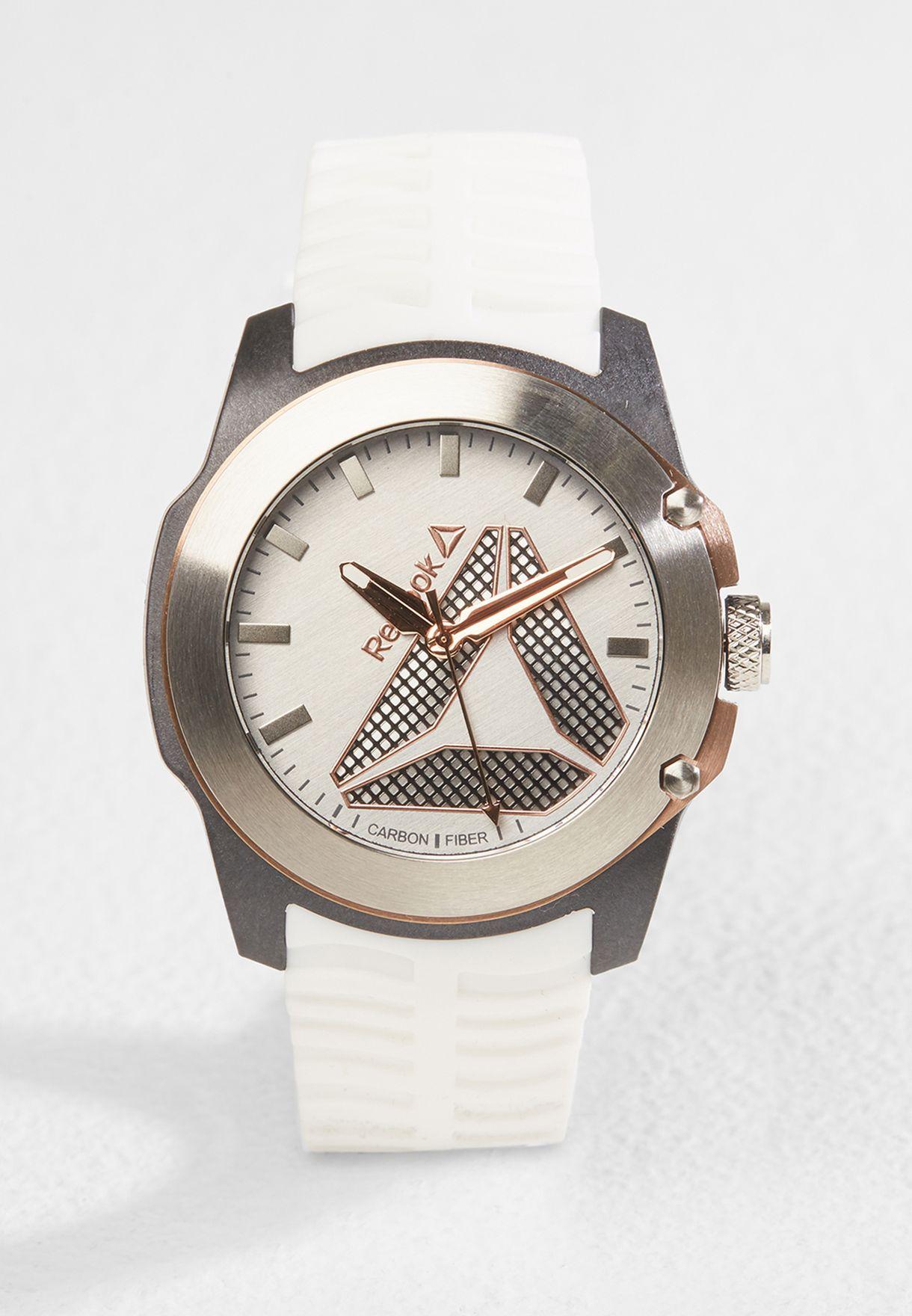 d7d59dc74 Shop Reebok white Tireflip Watch RD-TFL-G2-CSIW-W3 for Men in UAE ...