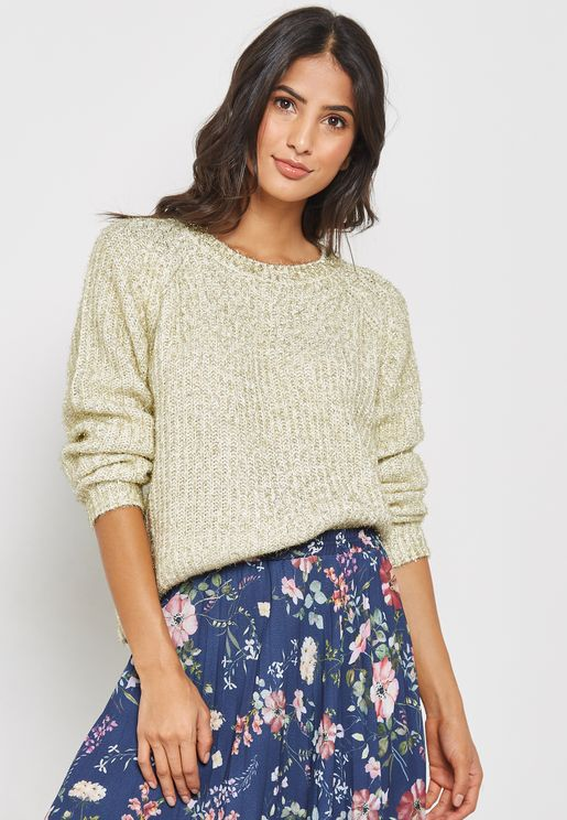 Shimmer Knitted Sweater