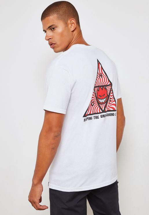 Lack Triangle Spitfire T-Shirt
