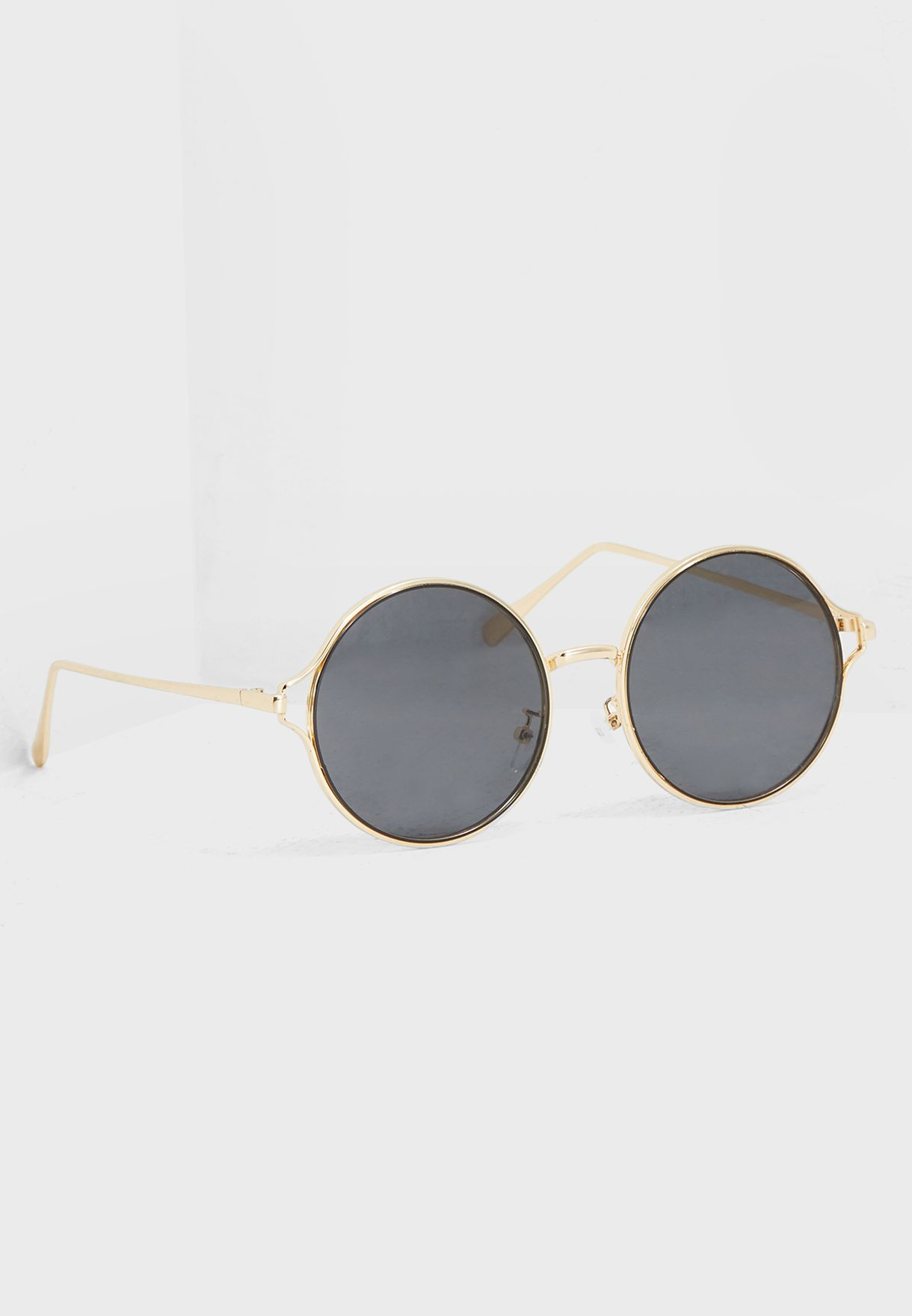 5f10d5f36c3 Shop Ginger gold Round Sunglasses 3013 for Women in Qatar - GI121AC76MZN