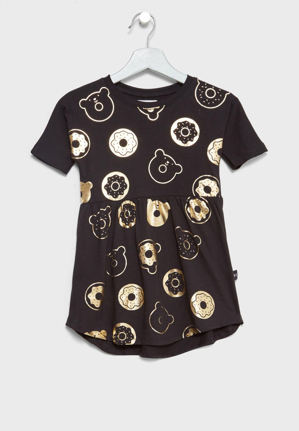 Little Donut Swirl Dress