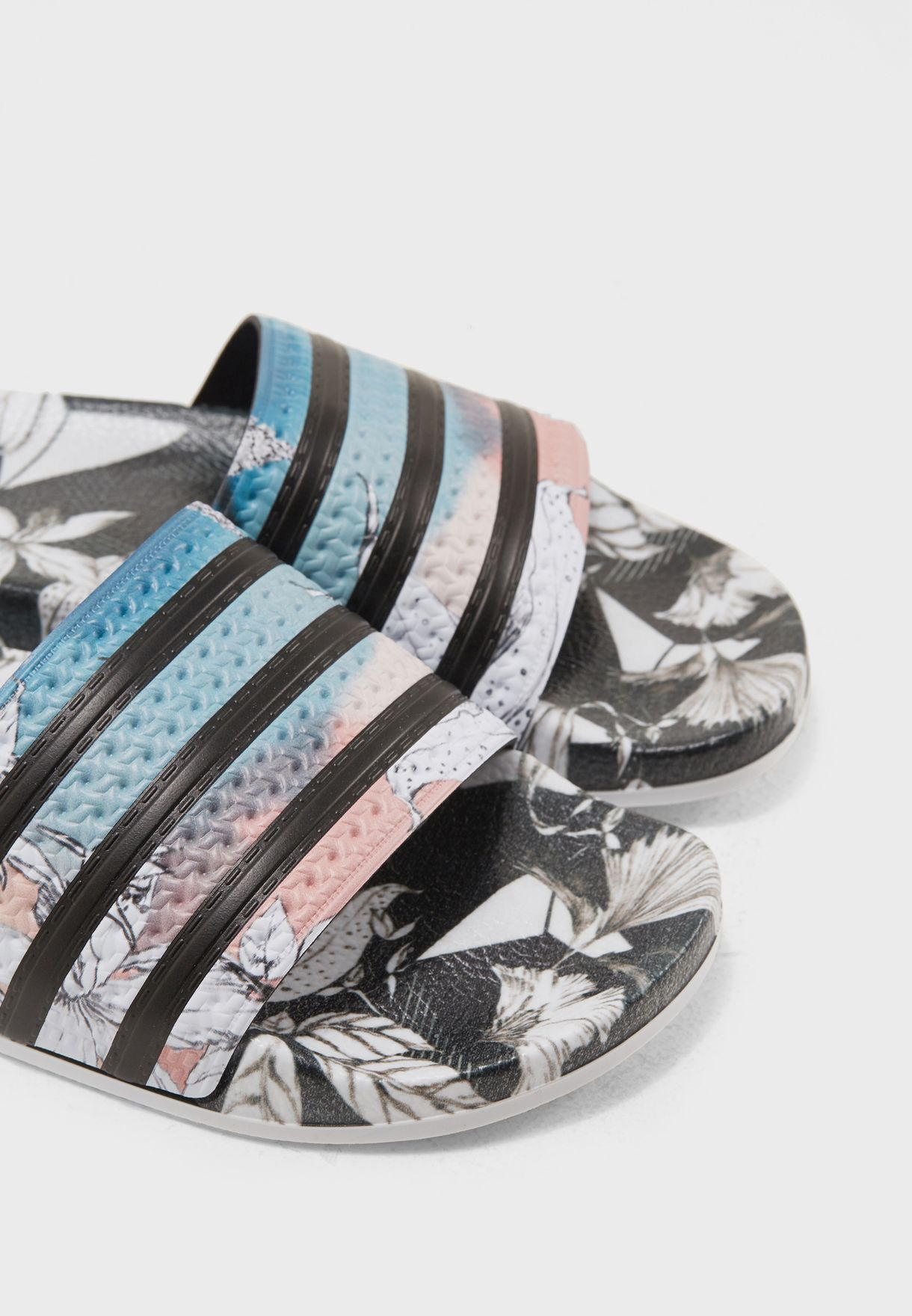 e0dab8b71 Shop adidas Originals prints Adilette Slides CM8225 for Women in UAE ...