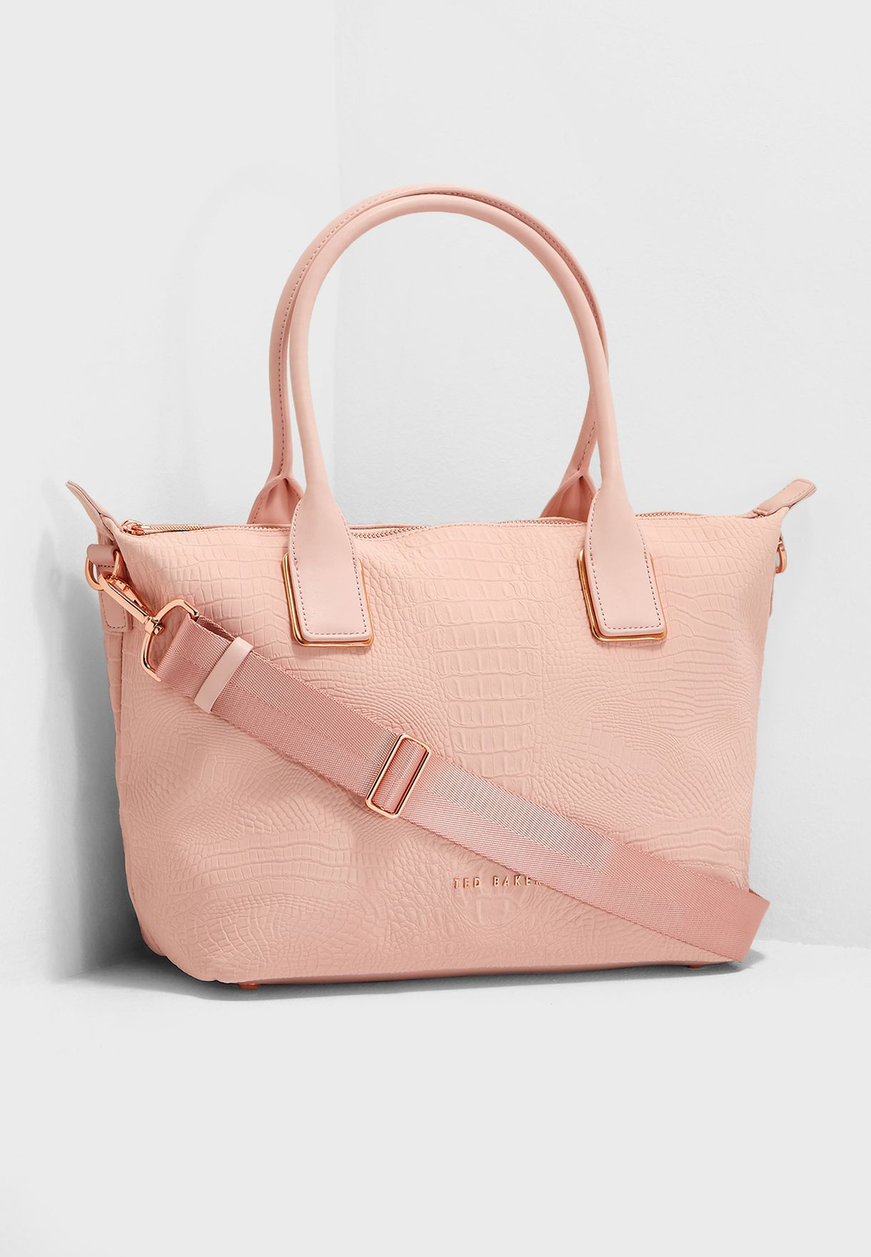 ac13fba33 Shop Ted baker pink Ciscki Reflective Shopper 148936 for Women in ...