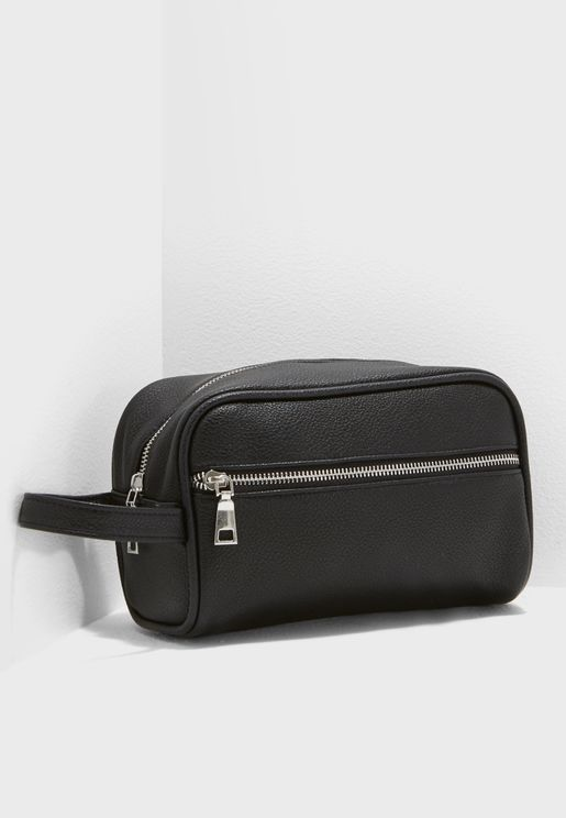 Double Zip Washbag