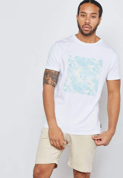 Tropically Crew Neck T-Shirt