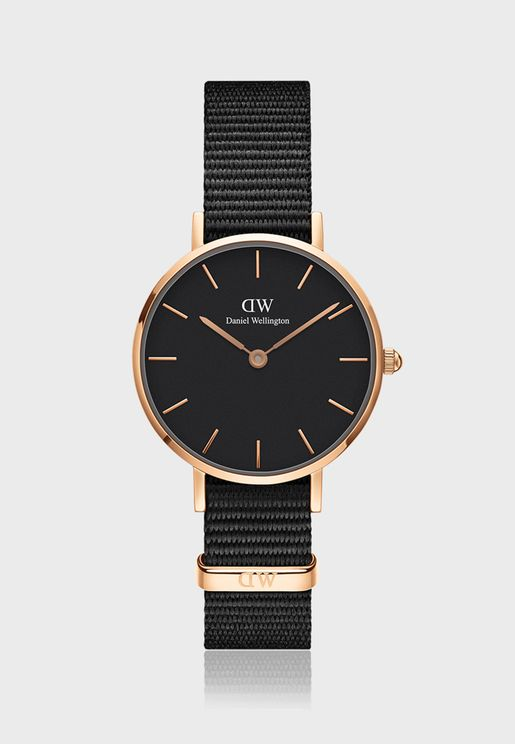 Classic Cornwall Watch 28mm Black